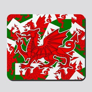 Welsh Dragon - Draig Mousepad