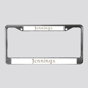Jennings Seashells License Plate Frame