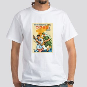Xtreme Anti-USA Double Sided White T-Shirt