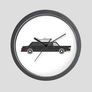 Smooth Riding Wall Clock