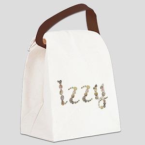 Izzy Seashells Canvas Lunch Bag