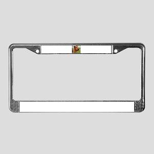 2 irish terrier License Plate Frame