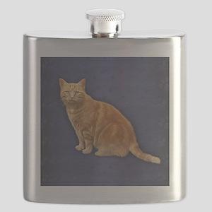 Ginger Cat  Flask