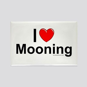 Mooning Rectangle Magnet