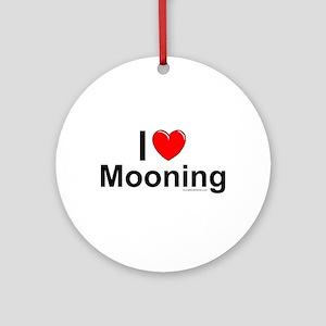 Mooning Ornament (Round)