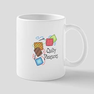 QUILTY PLEASURES Mugs