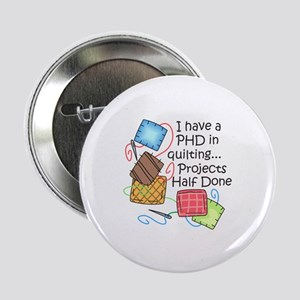"""PHD IN QUILTING 2.25"""" Button (10 pack)"""