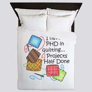 PHD IN QUILTING Queen Duvet