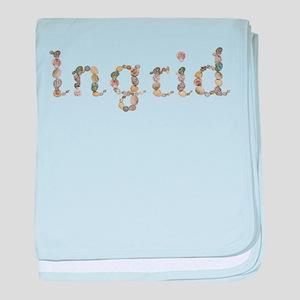 Ingrid Seashells baby blanket