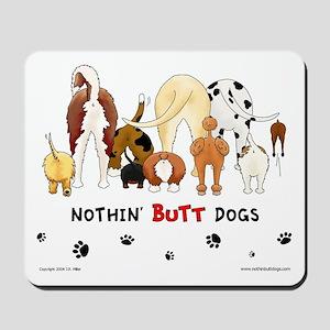Dog Pack AKC Breeds Mousepad