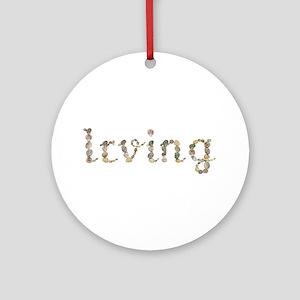 Irving Seashells Round Ornament