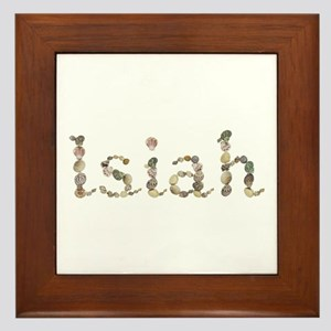Isiah Seashells Framed Tile