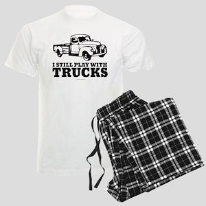 I Still Play With Trucks Men's Light Pajamas