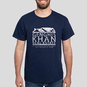 Genghis Kahn Real Estate Dark T-Shirt