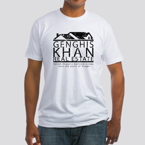 Genghis Kahn Real Estate Fitted T-Shirt