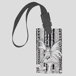 Zen Fairy Large Luggage Tag