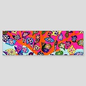 Heart Flowers - Tree of Life - Jenn Bumper Sticker