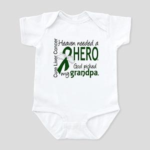 Liver Cancer HeavenNeededHero1 Infant Bodysuit