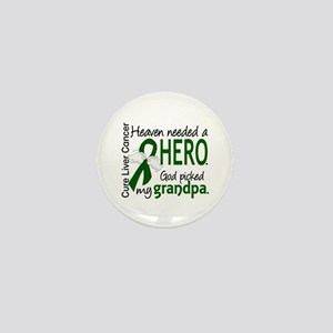 Liver Cancer HeavenNeededHero1 Mini Button