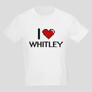 I Love Whitley T-Shirt