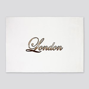 Gold London 5'x7'Area Rug