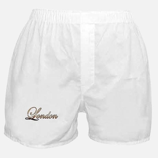 Gold London Boxer Shorts