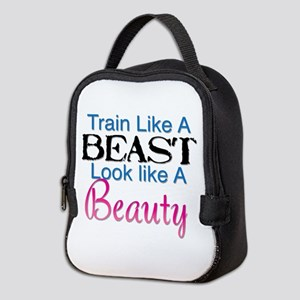 Train Like A Beast Look Like A Neoprene Lunch Bag