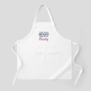 Train Like A Beast Look Like A Beauty Apron