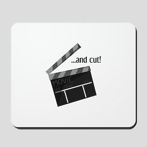 And Cut! Mousepad