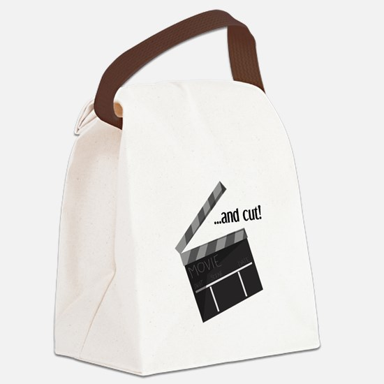 And Cut! Canvas Lunch Bag
