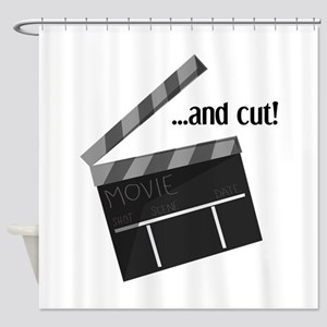 And Cut! Shower Curtain