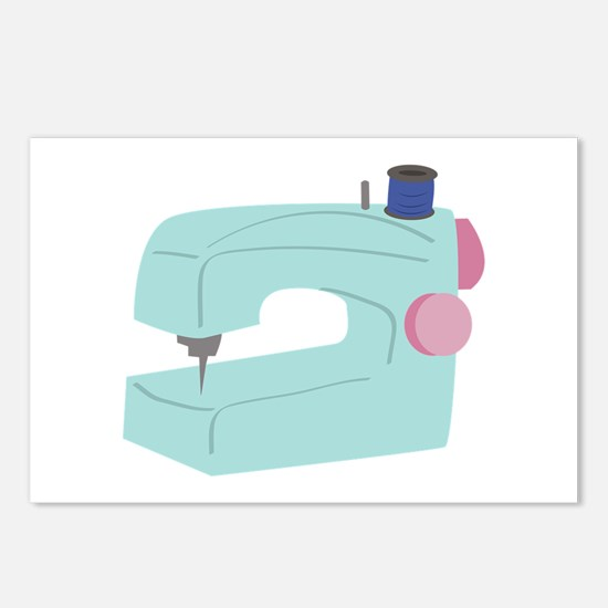 Sewing Machine Postcards (Package of 8)