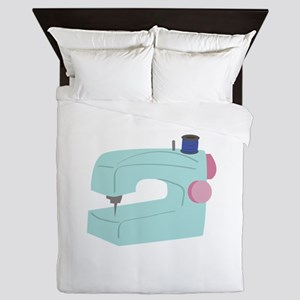 Sewing Machine Queen Duvet
