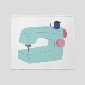 Sewing Machine Throw Blanket