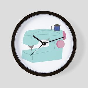 Sewing Machine Wall Clock
