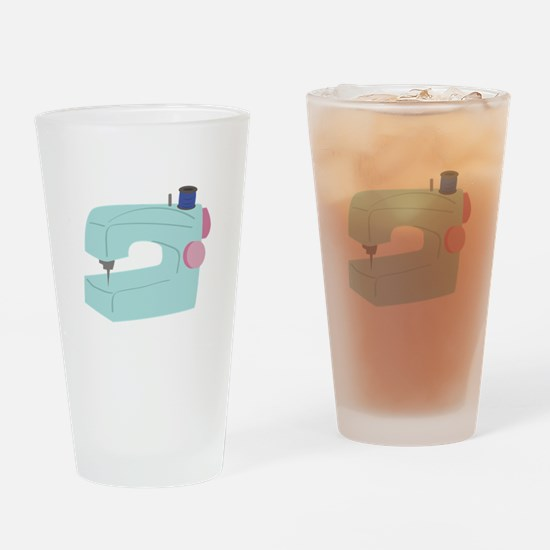 Sewing Machine Drinking Glass