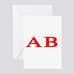 Alpha Beta Greeting Cards (Pk of 10)