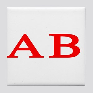 Alpha Beta Tile Coaster