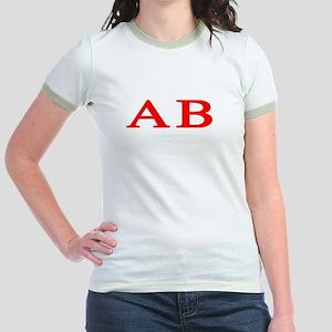 Alpha Beta Jr. Ringer T-Shirt