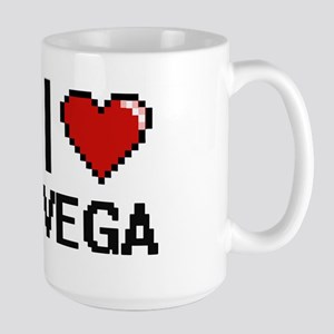 I Love Vega Mugs