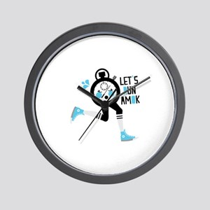 Timed Runner Amok Wall Clock
