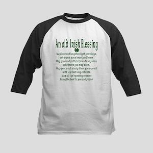 Old irish Blessing Kids Baseball Jersey