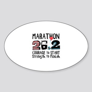 Marathon Courage Sticker
