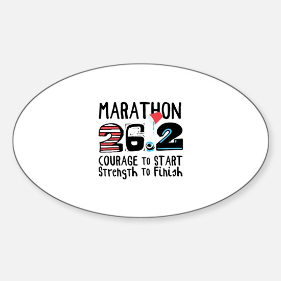 Marathon Courage Decal