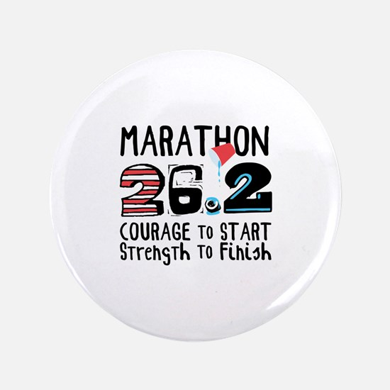 "Marathon Courage 3.5"" Button (100 pack)"