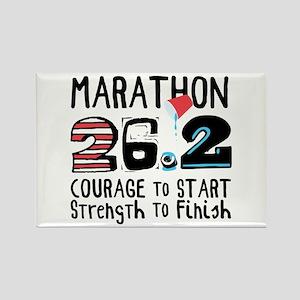 Marathon Courage Magnets