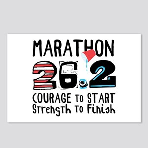 Marathon Courage Postcards (Package of 8)