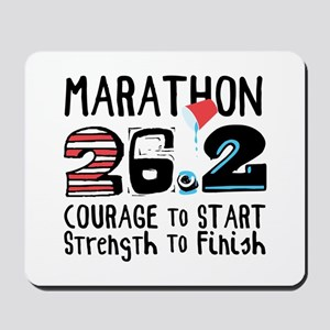 Marathon Courage Mousepad