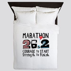 Marathon Courage Queen Duvet