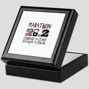 Marathon Courage Keepsake Box
